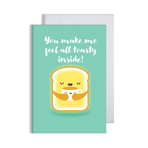 Toasty Card