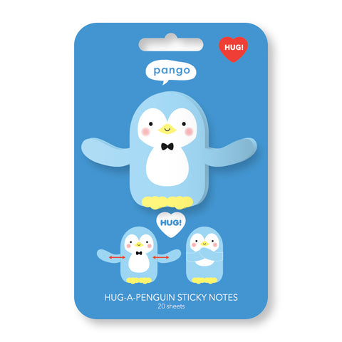 Penguin Hug Sticky Notes