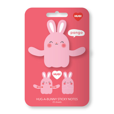 Rabbit Hug Sticky Notes