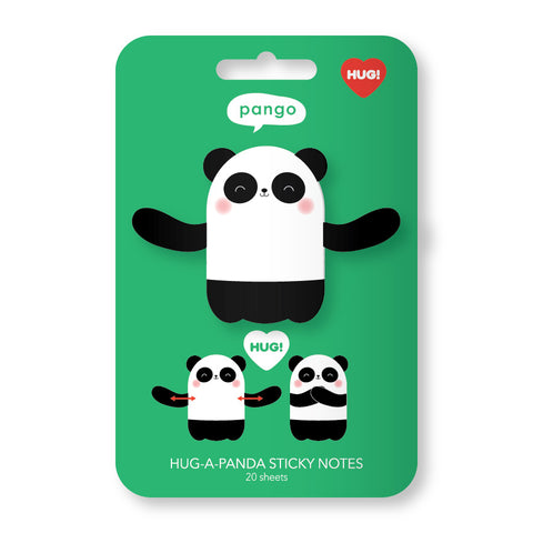 Panda Hug Sticky Notes