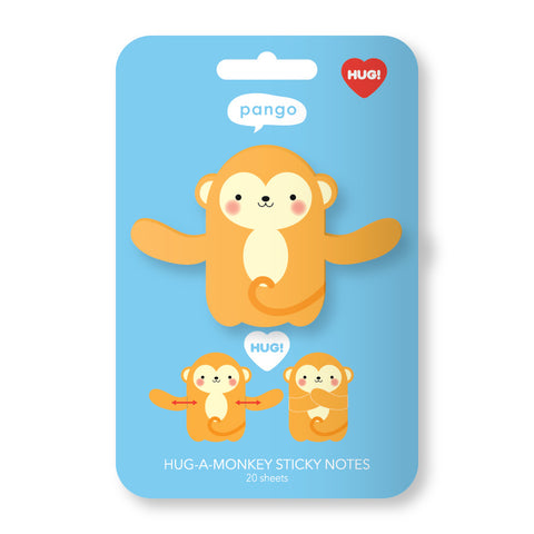 Monkey Hug Sticky Notes