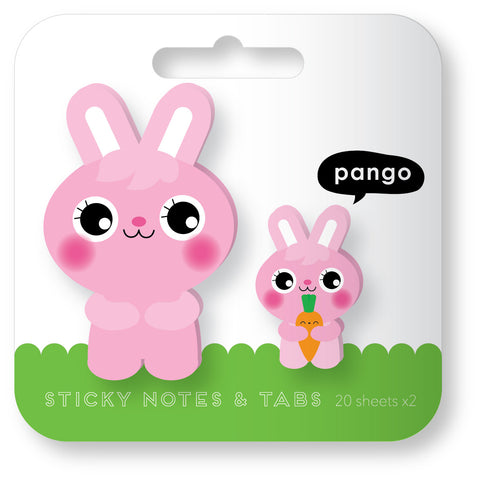 Rabbit Sticky Notes and Tabs