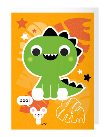 Dinosaur Tattoo Card