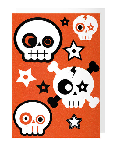Skull Tattoo Card