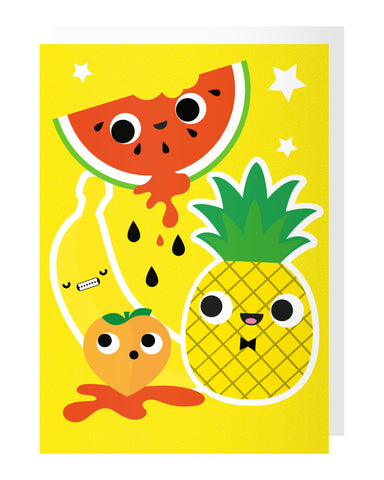 Fruit Tattoo Card