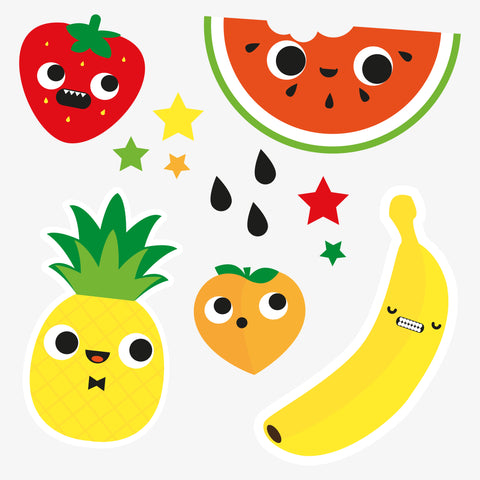 Fruit temporary tattoo stocking fillers