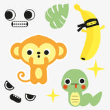 Monkey temporary tattoo stocking fillers
