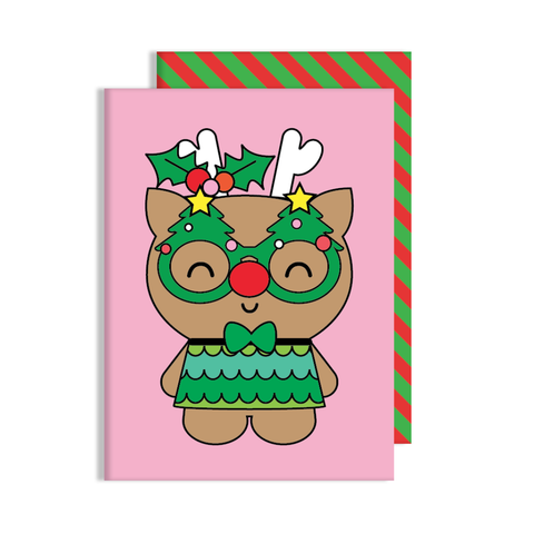 Reindeer Dress Up Card