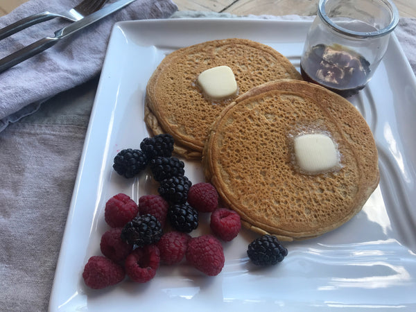 Dr. James' Flourless Super Plant-Based Pancakes