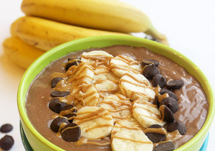 Healthy and Delicious Peanut Butter Cup Smoothie Bowl