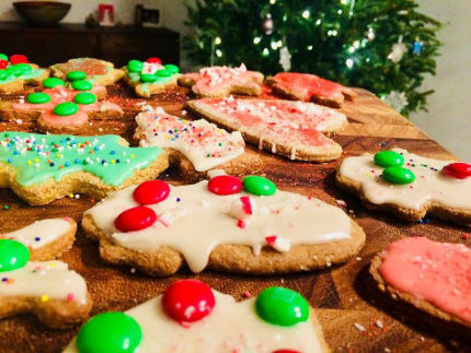 Healthy Holiday Cookie Recipe (Vegan/Paleo)
