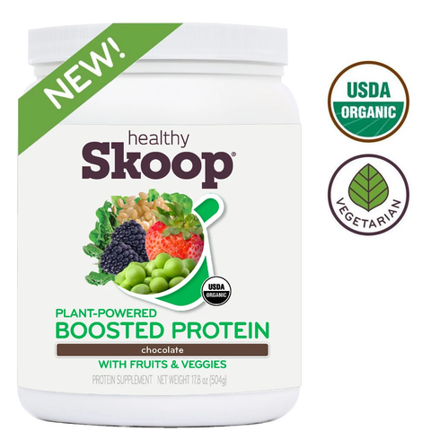 Organic Boosted Protein with Fruits and Veggies