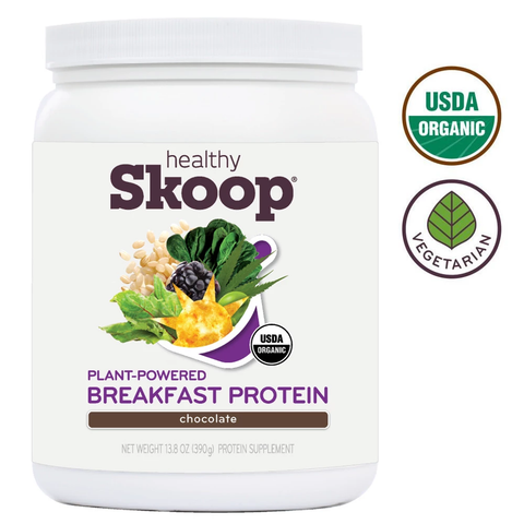 Organic Breakfast Protein with Probiotics and Vitamins