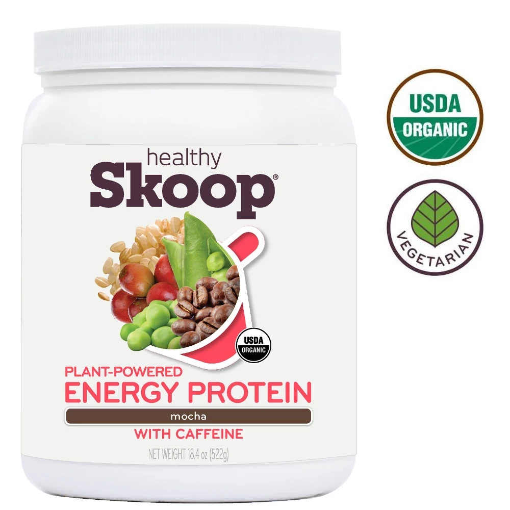 Organic Energy Protein with Caffeine