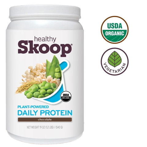 Organic Daily Protein with Brown Rice and Pea Protein