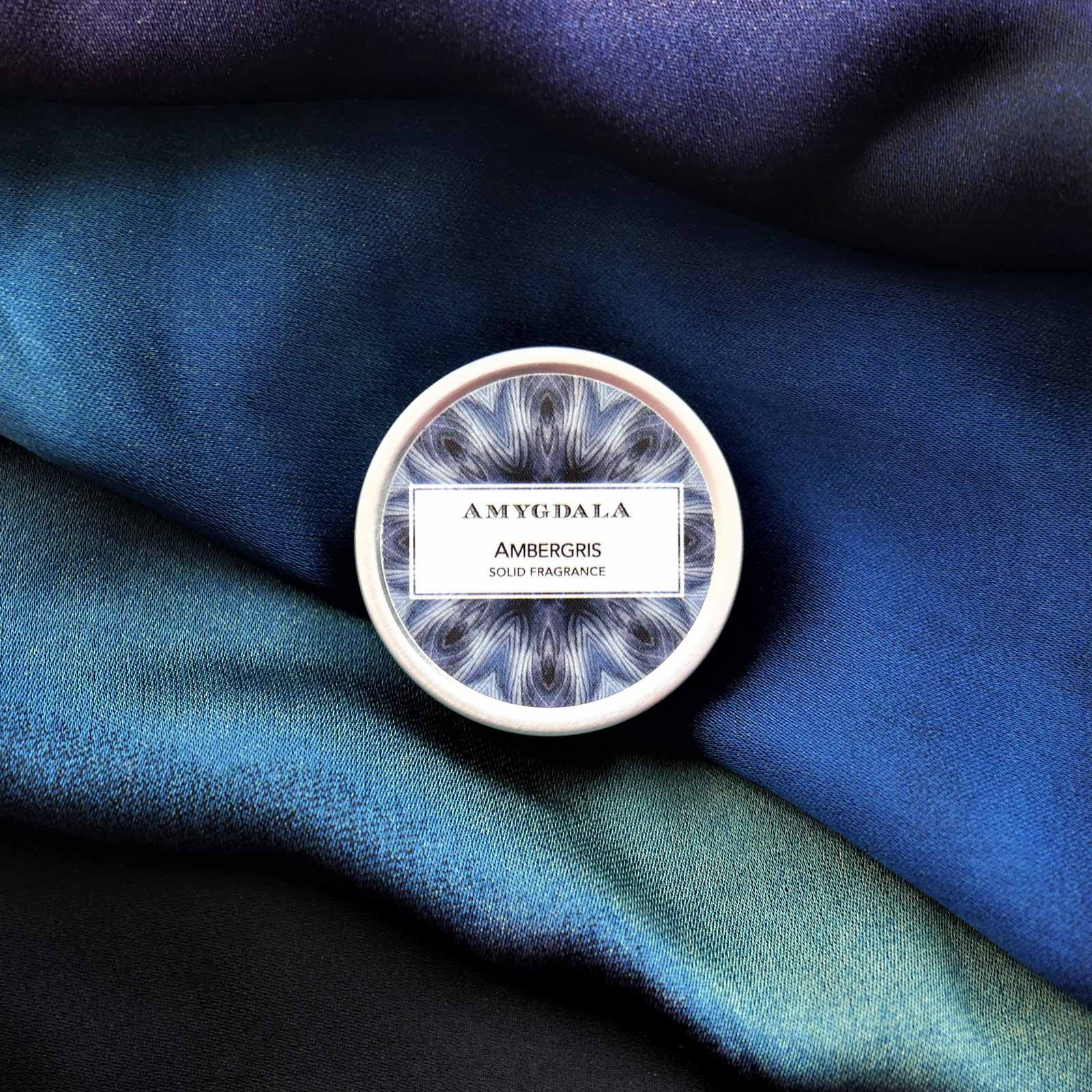 Ambergris Solid Perfume evokes the sea