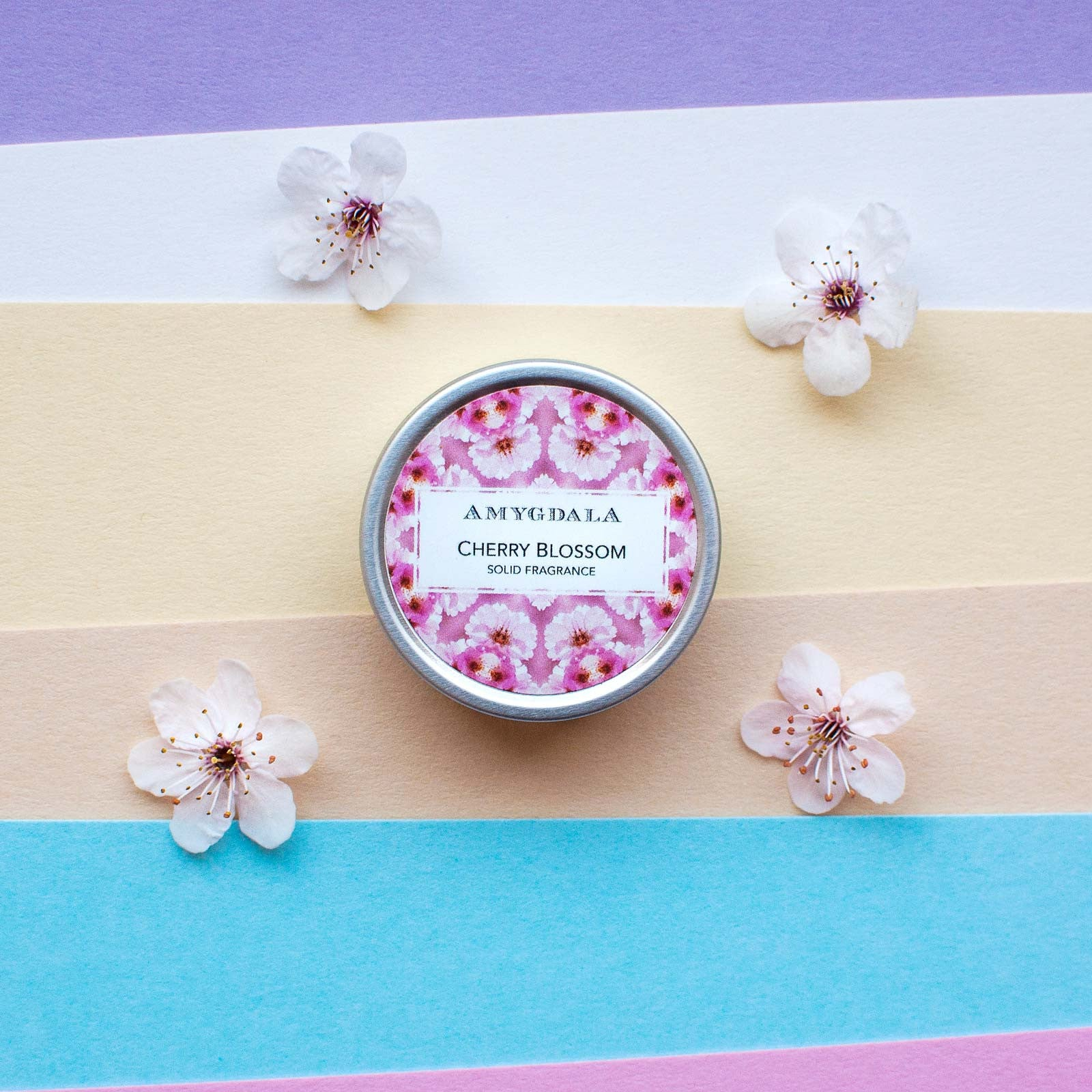 cherry blossom perfume with flowers