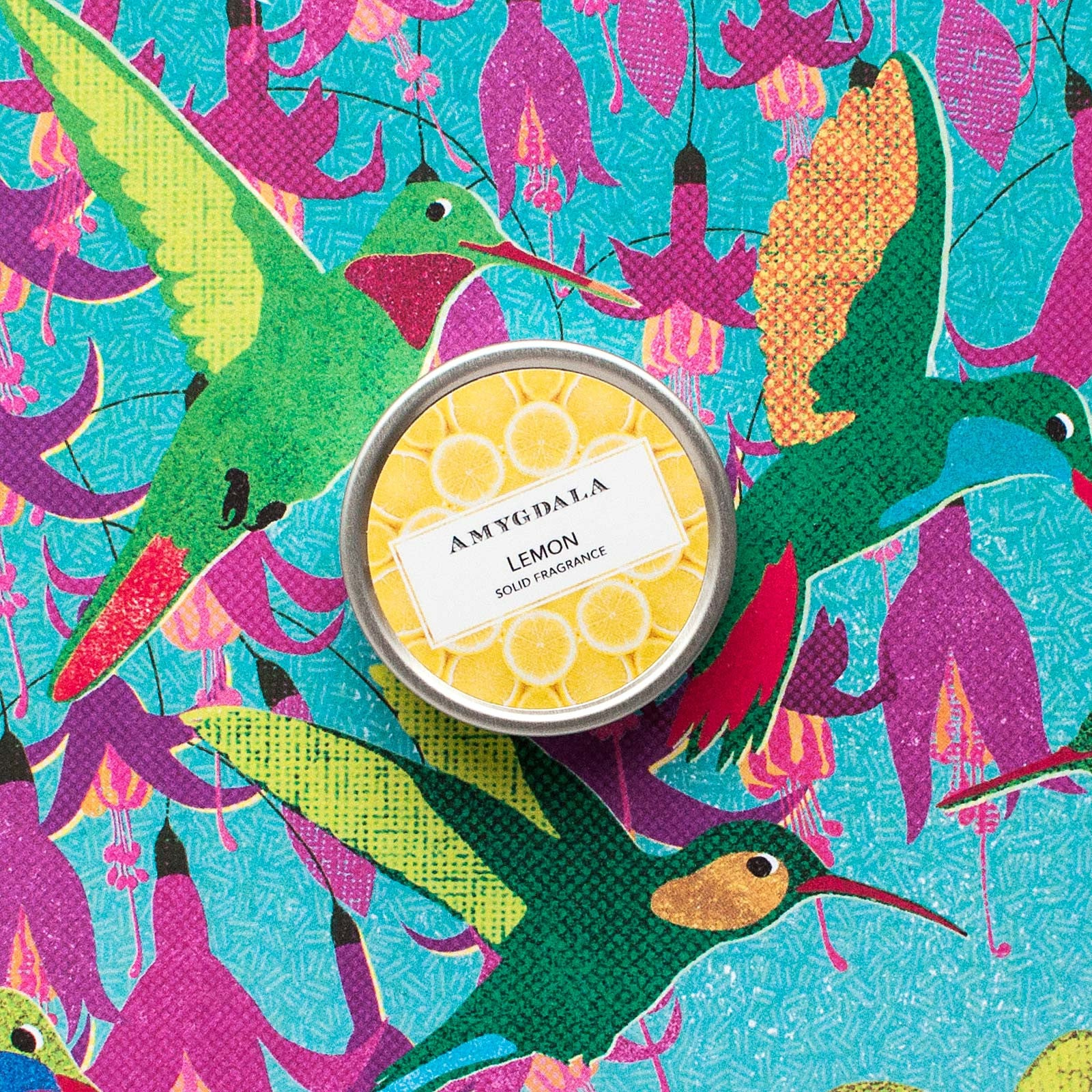 Lemon solid perfume