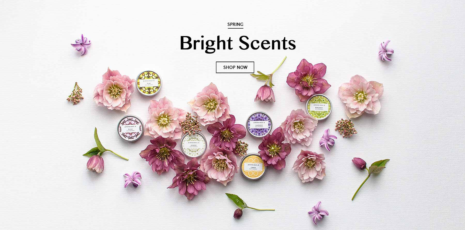 Spring Solid Perfumes from Amygdala Beauty