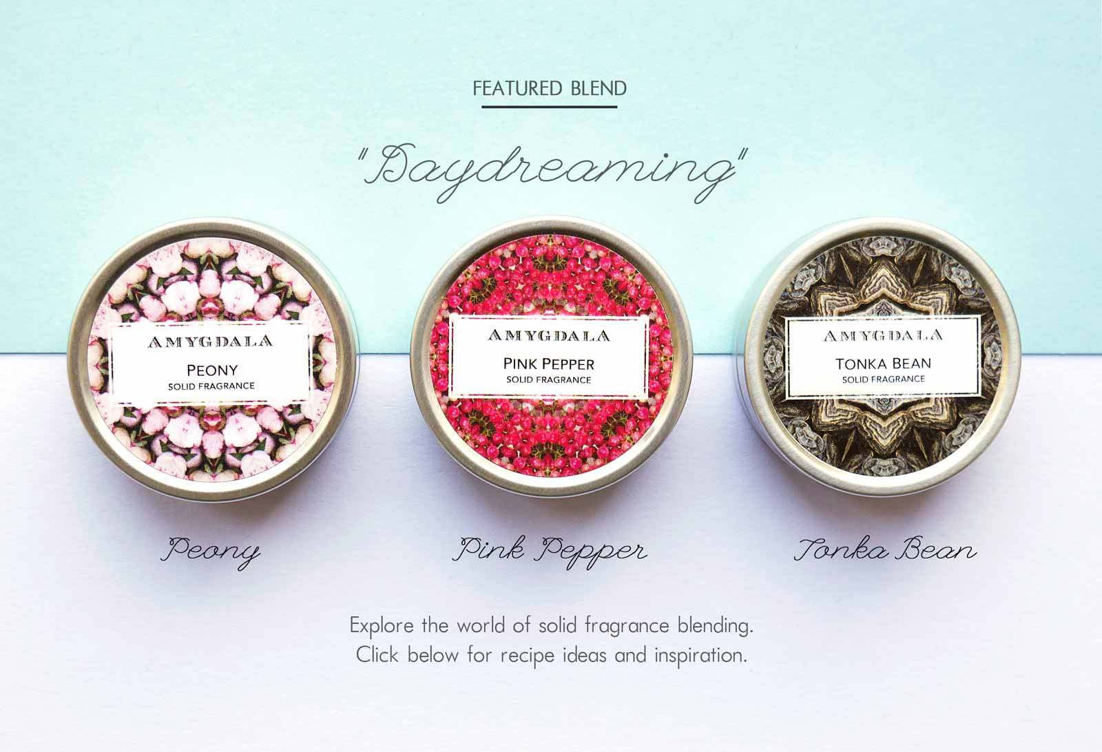 Solid Perfume Blending Recipes