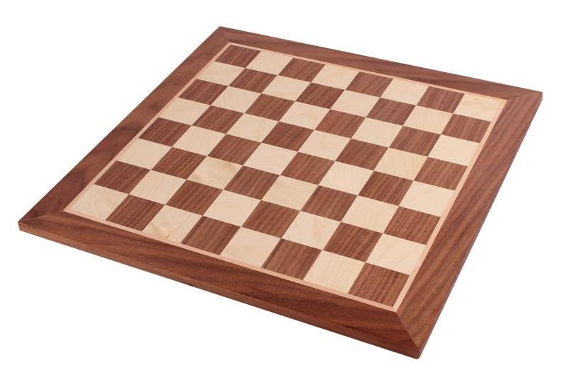 19 Inch Walnut Chess Board