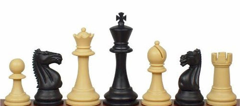 Black & Tan Fierce Knight Chess Pieces for <span class=money>£5.95 GBP</span> at Chess4Schools