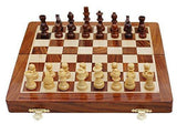 Solid Wood 10 Inch Magnetic Chess Set for <span class=money>£44.95 GBP</span> at Chess4Schools
