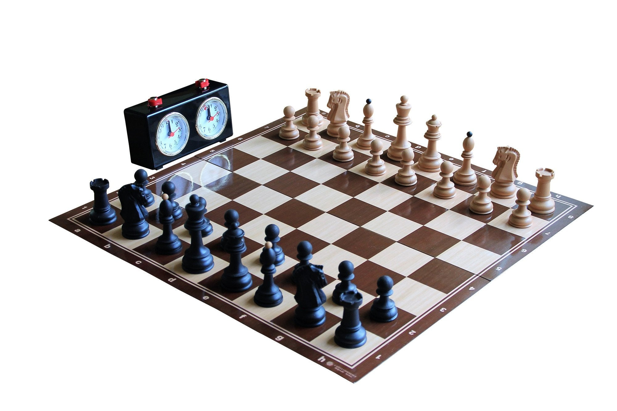 Dubrovnik Tournament Chess set & Chess Clock
