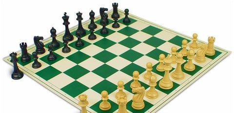 Fierce Knight Folding PVC Chess Set for <span class=money>£9.95 GBP</span> at Chess4Schools
