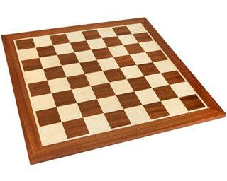 19 Inch Mahogany Chess Board for <span class=money>£29.95 GBP</span> at Chess4Schools