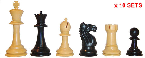 Black & Tan Fierce Knight X 10 for <span class=money>£55.00 GBP</span> at Chess4Schools
