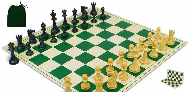20 x Fierce Knight Folding PVC Chess Set & Bag for <span class=money>£220.00 GBP</span> at Chess4Schools