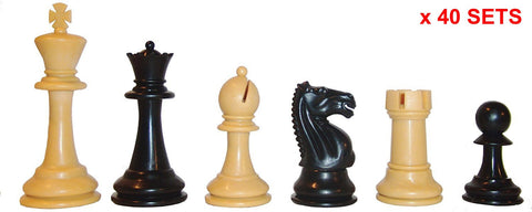 Black & Tan Fierce Knight X 40 for <span class=money>£160.00 GBP</span> at Chess4Schools