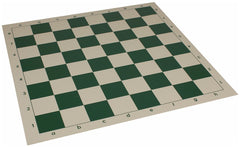 20 Inch Vinyl Roll Up Chessboard Green for <span class=money>£3.95 GBP</span> at Chess4Schools