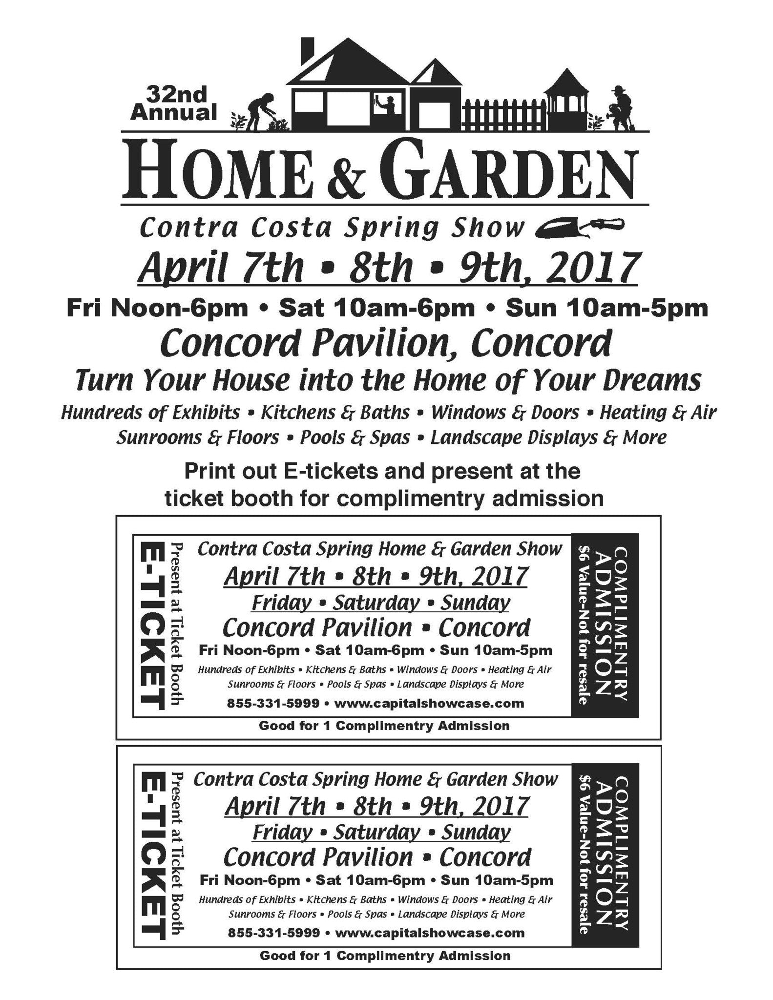 About Contra Costa's Premier Home & Garden Show