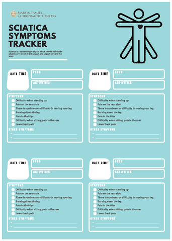 Sciatica Symptoms Tracker