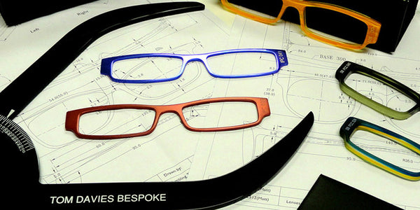 Tom Davies Bespoke Hicks Brunson Eyewear
