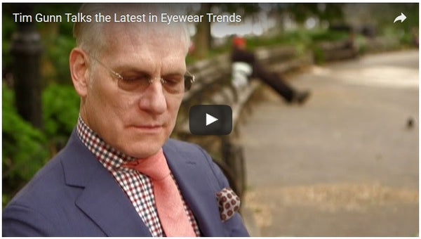 Tim Gunn Talks Eyewear Trends