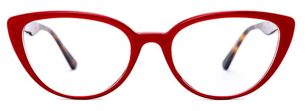 Etnia  Barcelona Barri Red Cat Eye Plastic Frame