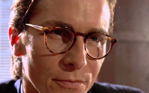 Christian Bale American Pyscho Oliver Peoples Glasses