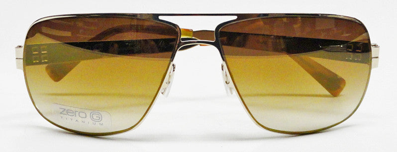Zero G Born In Brooklyn Gold Mirror Sunglasses Hicks Brunson Eyewear