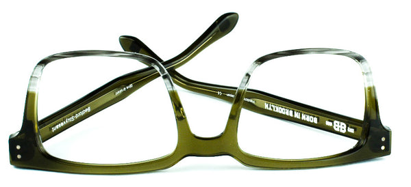 Born In Brooklyn Bedford Stuyvesant Plastic Frame Olive Gradient