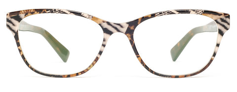 Zero G Coachella Zebra Leopard Collage women's eyeglasses