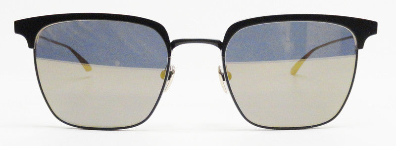 Masunaga Collins S49 Black Gold Sunglasses Hicks Brunson Eyewear