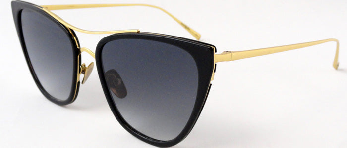Sama Siren Sunglasses Black Gold