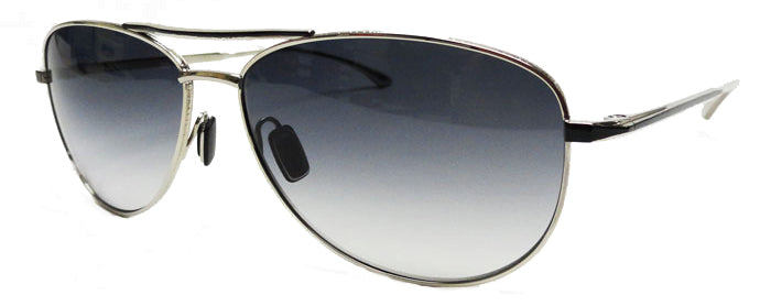 Masunaga - 9001 - SG - #22 - Silver/Black - Aviator Sunglasses - Hicks Brunson Eyewear