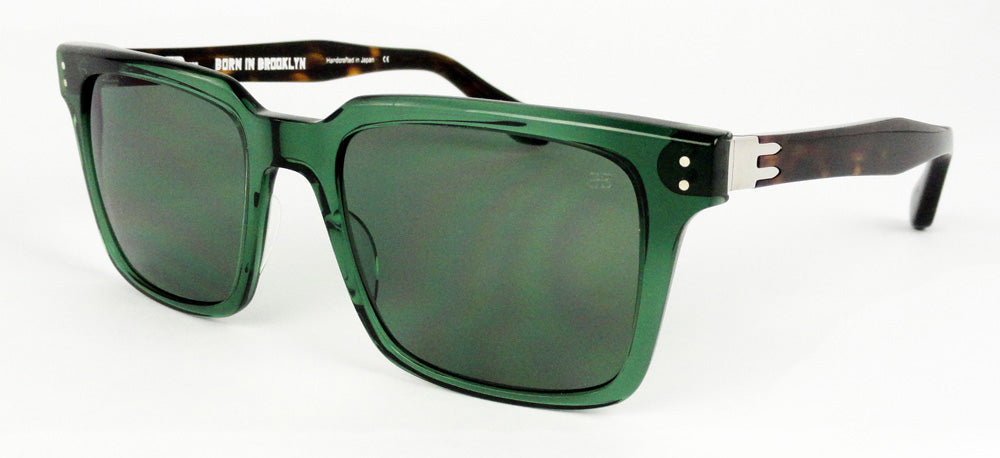 Born In Brooklyn - Fort Greene - Emerald-Tort - Sunglasses
