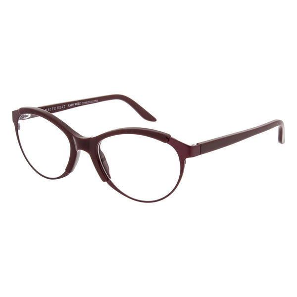 Andy Wolf Giana Red E Oval Plastic Combinations Frame