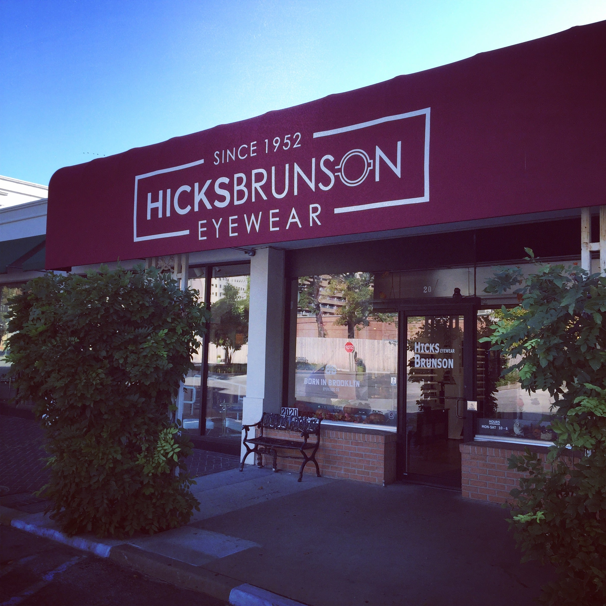 Hicks Brunson Eyewear - Eyewear Boutique - Tulsa - Oklahoma - Utica Square - Since 1952