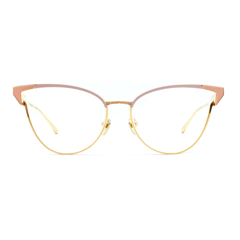 Leisure Society Satie Rose Gold Blush Metal Cateye